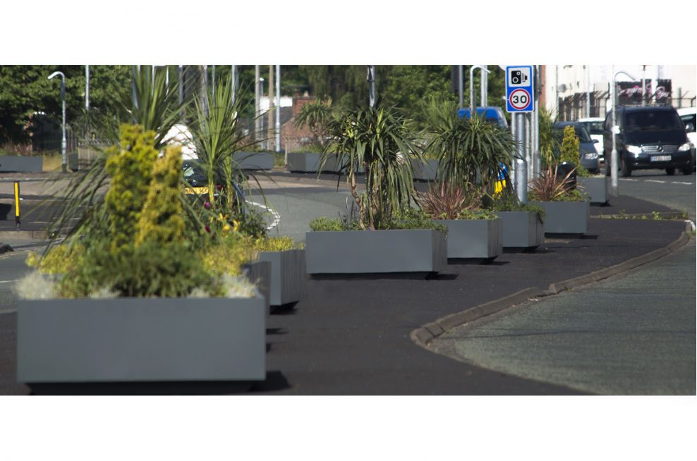 Planters Made From Steel
