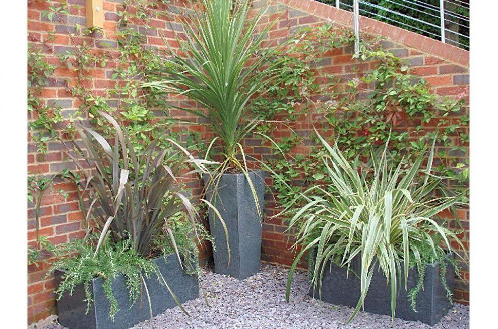 Waterproof Granite Planters From IOTA
