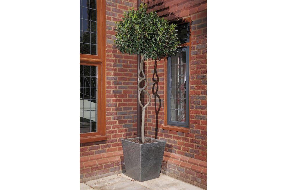 Waterproof Granite Taper 600 Tree Planter Outside Property