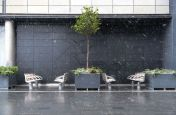 Granite Planters At Westfield Stratford City