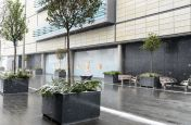 Square Granite Planters At Westfield Stratford City