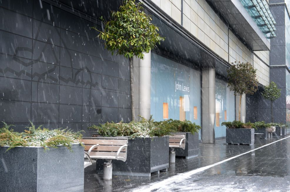 Westfield Stratford City Commissioned Planters