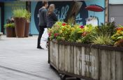 Bespoke Faux Steel Planters Made For Westfield Shopping Centre