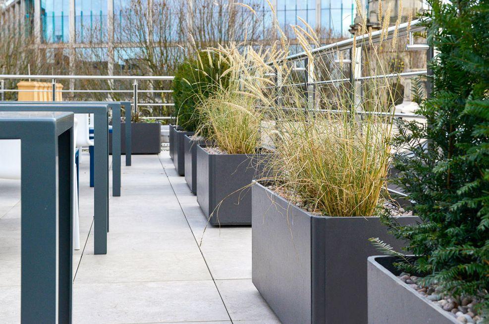 Boulevard composite planters