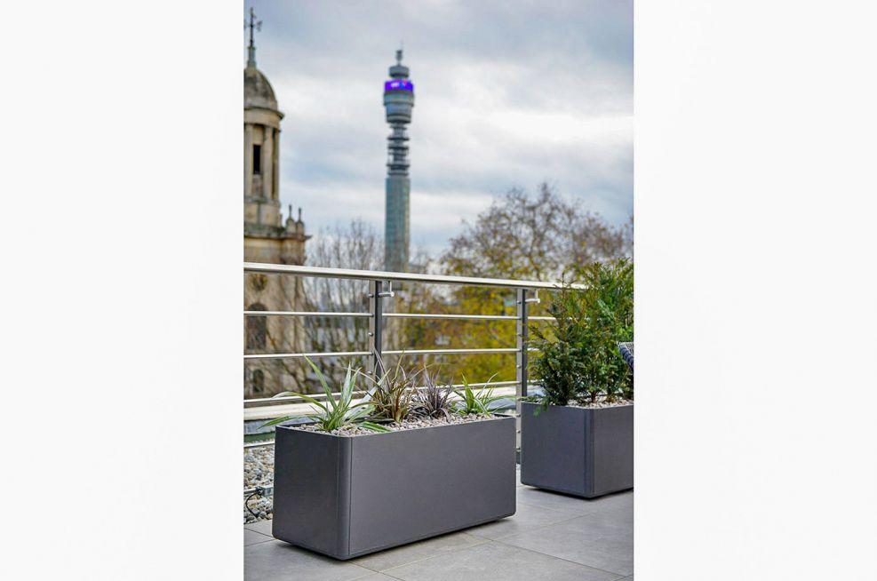 Composite FRC trough planters