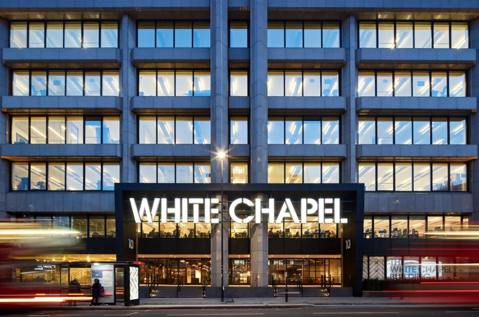 White Chapel Building London