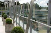 Fresco Cube 500 Planters On Terrace