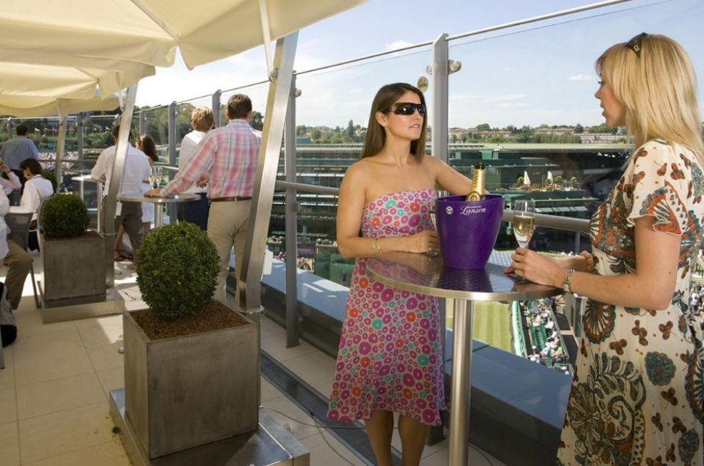 Fresco Planters At Wimbledon Centre Courts Rooftop Bar