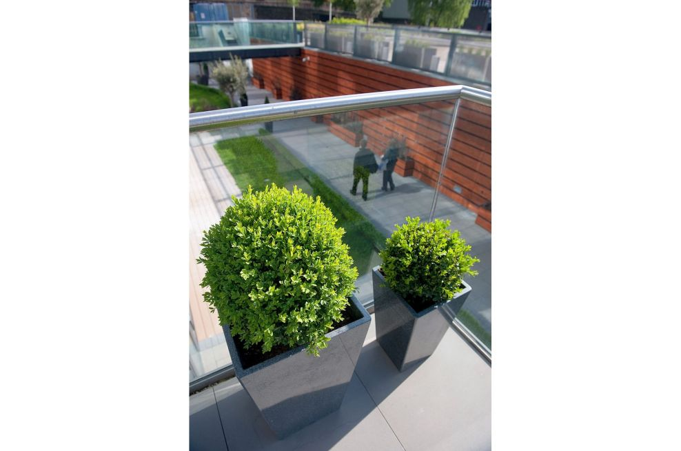Natural Stone Planters Made From Granite