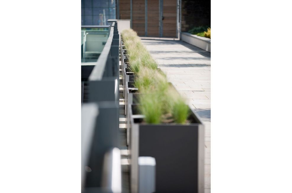 Row Of Delta Carat Planters