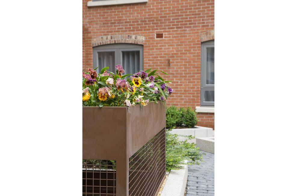 Corten Steel Planters From IOTA