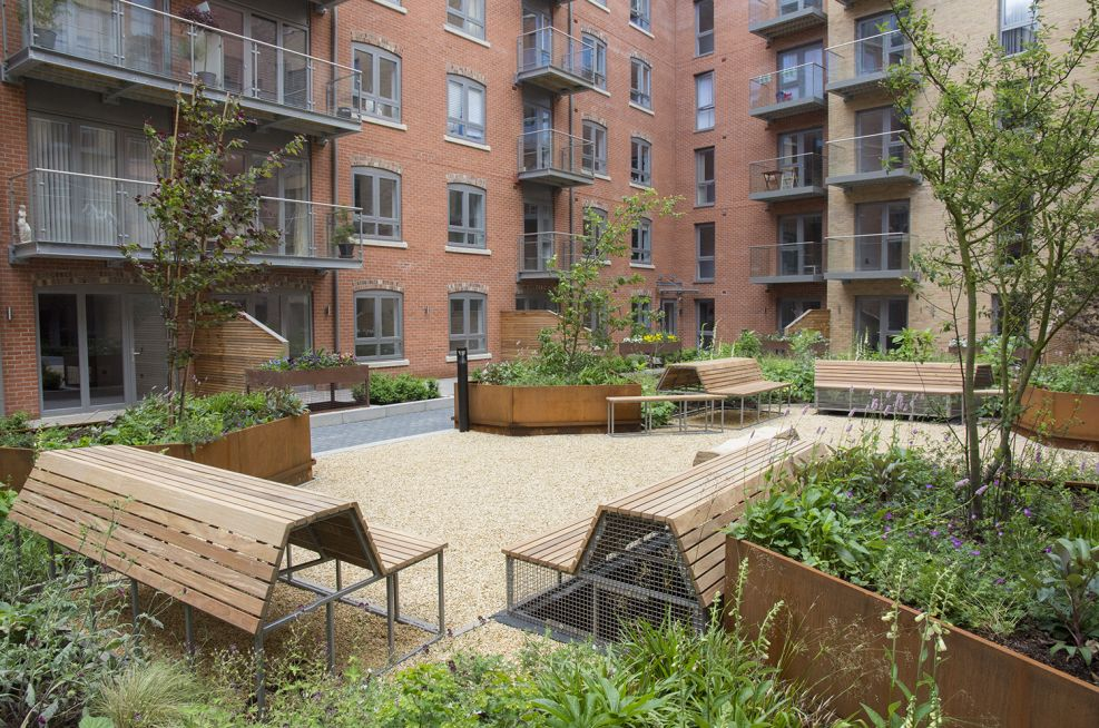 IOTA Planters at The Hungate Regeneration Scheme