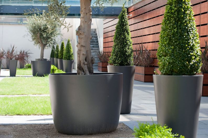 Commercial Planters Large Interior Exterior And Public Realm Planters Iota Uk