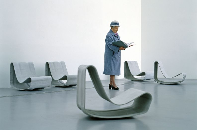 Loop Chairs in public communal space