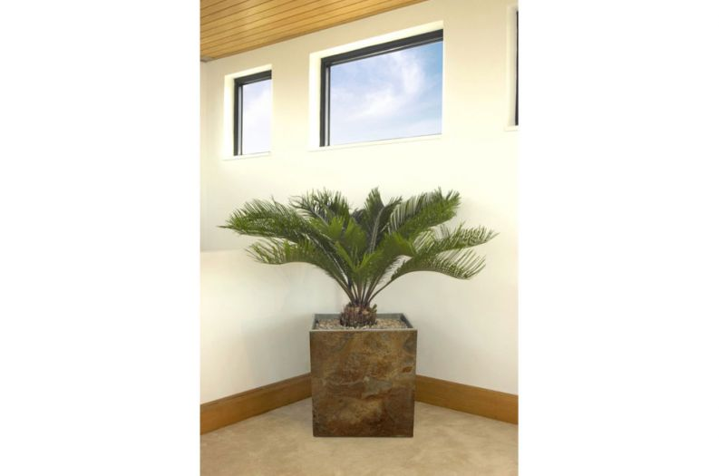 Slate Tall Square Large planter