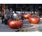 ALADIN planters at the Paddington Recreation Ground, London W9