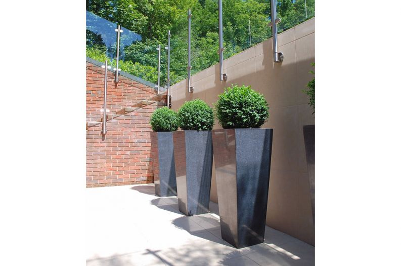 Granite Tall Taper XXL planters
