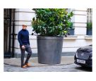 Lead planters for Rosewood London11